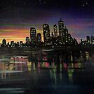 City Lights by Adam Santana