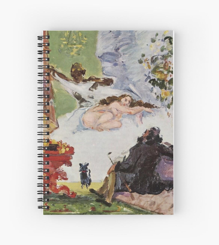"Paul Cézanne ""Ein modernes Olympia"" von Alexandra Dahl"
