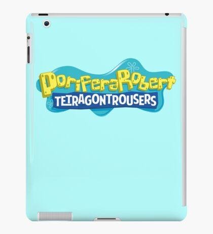 PoriferaRobert TetragonTrousers iPad Case/Skin