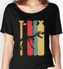 Vintage T-Rex Skeleton T-Shirt Women's Relaxed Fit T-Shirt