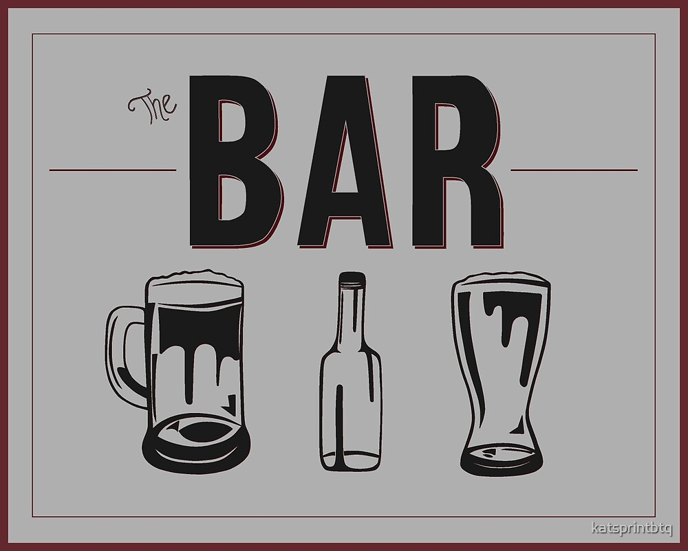 The Bar by katsprintbtq