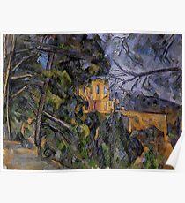 """Paul Cézanne """"Chateau Noir"""" Poster"""