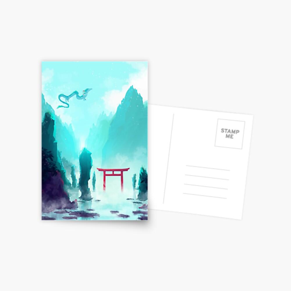 Spiriting Away Postcard