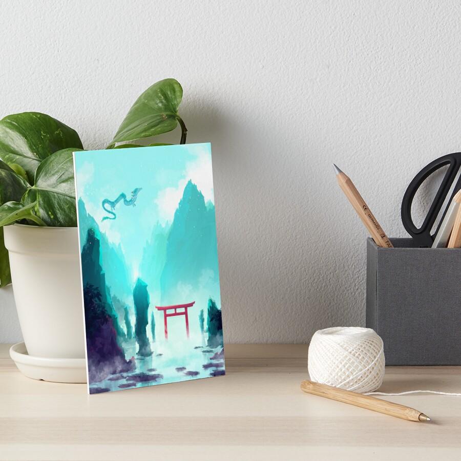 Spiriting Away Art Board Print