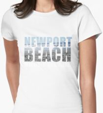 Newport Beach Rhode Island Women's Fitted T-Shirt