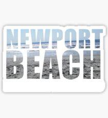 Newport Beach Rhode Island Sticker