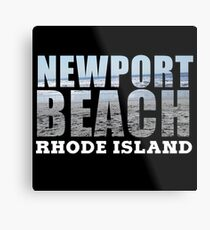 Newport Beach Rhode Island Metal Print