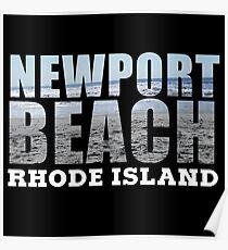 Newport Beach Rhode Island Poster