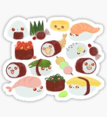 SUSHI KITTEN Sticker