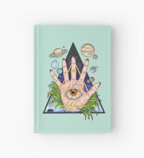 Heliocentric Hamsa Hardcover Journal