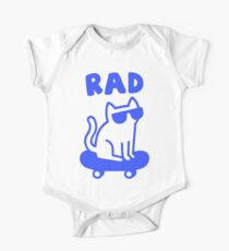 RAD CAT Short Sleeve Baby One-Piece