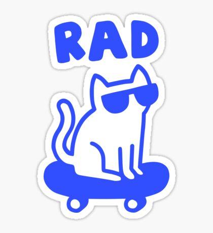 RAD CAT Glossy Sticker