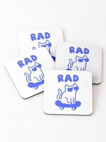 RAD CAT Coasters