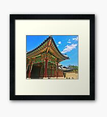 Korean Palace Framed Print