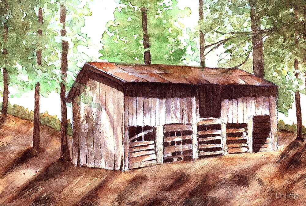 Elodie Barn by LinFrye