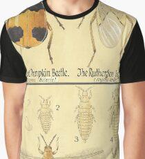 Branded Pumpkin Beetle & Rutherglen Bug-Thrips Graphic T-Shirt