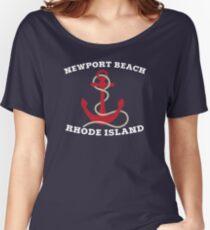 Newport Beach Anchor Women's Relaxed Fit T-Shirt
