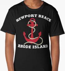 Newport Beach Anchor Long T-Shirt