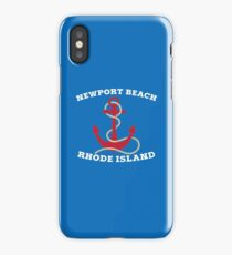 Newport Beach Anchor iPhone Case