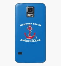 Newport Beach Anchor Case/Skin for Samsung Galaxy