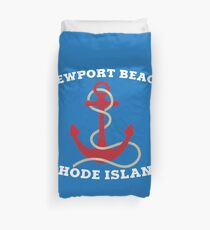 Newport Beach Anchor Duvet Cover