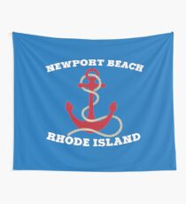 Newport Beach Anchor Wall Tapestry
