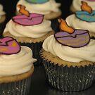 Diwali Cupcakes by tali