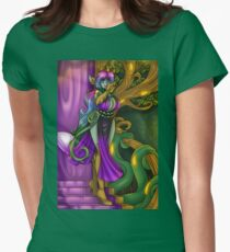 Queen Althea Throne Room Women's Fitted T-Shirt