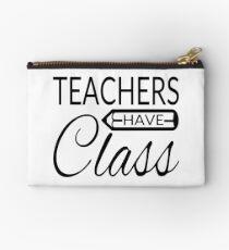 Teachers Have Class Studio Pouch