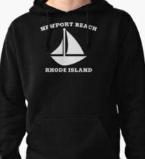 Newport Beach Sailboat Pullover Hoodie