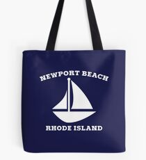 Newport Beach Sailboat Tote Bag