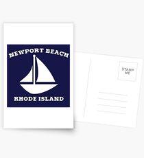 Newport Beach Sailboat Postcards
