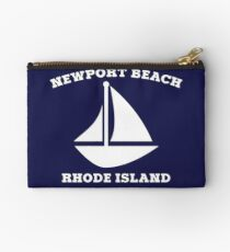 Newport Beach Sailboat Studio Pouch