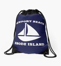 Newport Beach Sailboat Drawstring Bag