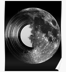 Vinyl Mond Poster
