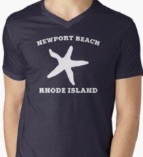 Newport Beach Starfish Men's V-Neck T-Shirt