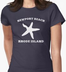 Newport Beach Starfish Women's Fitted T-Shirt