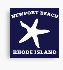Newport Beach Starfish Canvas Print