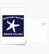 Newport Beach Starfish Postcards