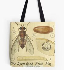 The Queensland Fruit Fly-The Mediterranean Fruit Fly Tote Bag