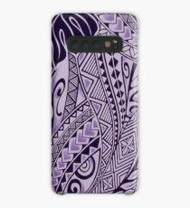 Hawaiian Ornament - Purple Case/Skin for Samsung Galaxy