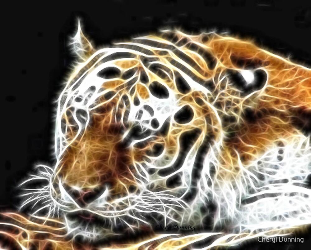 tiger spirit by Cheryl Dunning