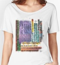 THRONE OF GLASS QUOTES Women's Relaxed Fit T-Shirt