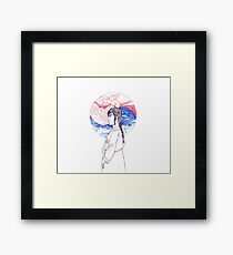 Korean Woman Framed Print