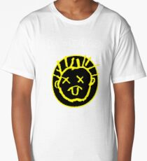 Drop Dead Fred Smiley Face Long T-Shirt