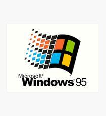 Windows 95 Art Print