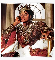 MICHAEL JACKSON AS KING OF POP Poster