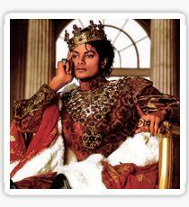 MICHAEL JACKSON AS KING OF POP Sticker