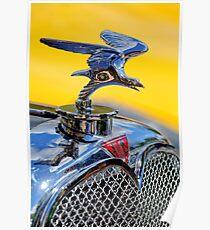 1932 Alvis Hood Ornament -1071c Poster