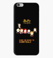 Buffy the Vampire Slayer as South Park iPhone Case
